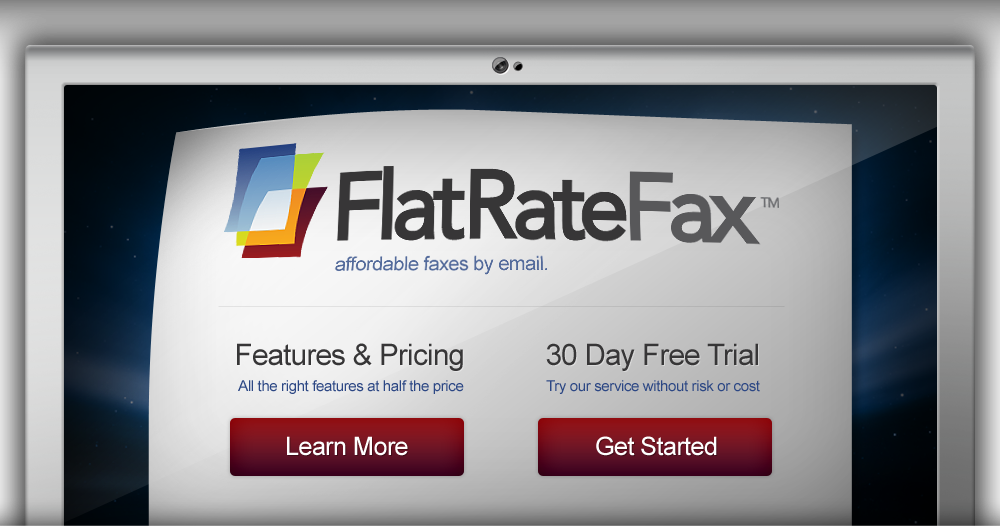 FlatRate Fax - affordable faxes by email.